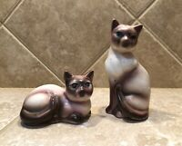 Vintage Siamese Cat Salt And Pepper Shakers Made In Japan
