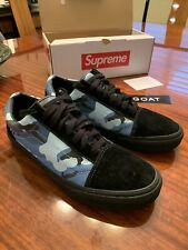 Supreme x Vans Old Skool Sky Blue Camo VN-01R1G8C Size 11 With Box *Charity*