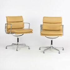 2010 Herman Miller Eames Aluminum Group Soft Pad Management Desk Chair Leather