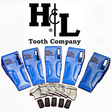 233SP Bucket Teeth by H&L Fits All 230 Series Adapters Hammerless Conversion 233