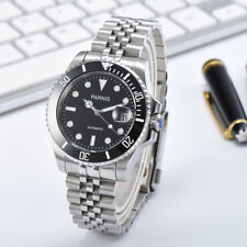 Parnis 21 Jewels Miyota Automatic Men's Mechanical Watch Sapphire Stainless Band
