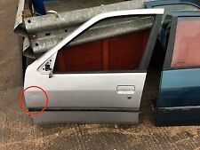 Peugeot 306 HDI XSI XS N/S Passenger side front door in silver