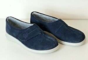 Hotter Wrap Slippers Women's Blue 7 (UK) 41 (EUR) 9 (US) New Without Tags or Box