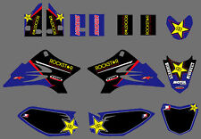 Team Graphics Background Decals For Yamaha TTR50 2006 07 08 09 10 11 12 13 14 15