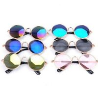 Framed Pet Puppy Dog UV Protection Doggles Goggles Sunglasses Eyewear Cool Props
