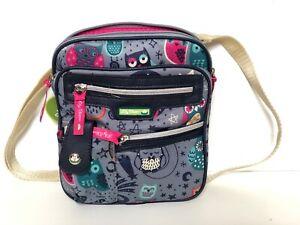 Lily Bloom Night Owl Gigi Mini Cross body  Shoulder Bag Purse Handbag New