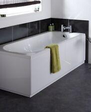 VeeBath Linx Front 1700mm Bath Panel High Gloss White- Adjustable Plinth MDF