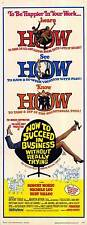 HOW TO SUCCEED IN BUSINESS WITHOUT REALLY TRYING Movie POSTER 14x36 Insert