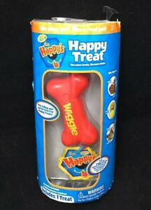Happy Treat New Red Bone Wiggles The Happys World of Zhu 2014 Pet Treat Toy