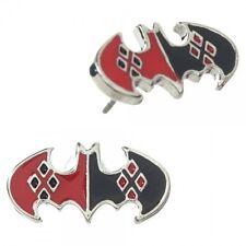 DC Comics Official License Batman DC Comics Harley Quinn Stud Earrings NIB
