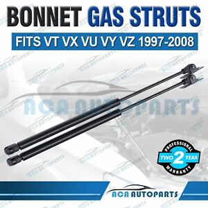 New A Pair Bonnet Gas Struts for Holden Commodore VT VU VX VY VZ Sedan Wagon Ute