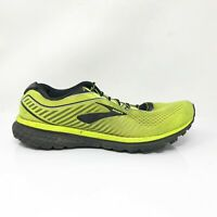 Brooks Mens Ghost 12 1103161D741 Yellow Running Shoes Lace Up Low Top Size 12