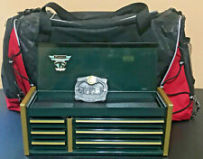 Snap On Tools Gift Set New - Micro Tool Box + Bag + Belt Buckle - Fast Shipping