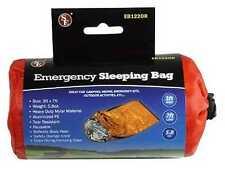 Orange 3ft X 7ft Heavy Duty Emergency Hiking Camping Thermal Sleeping Bag Kit