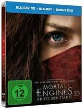 Mortal Engines (3D + 2D Blu-ray Steelbook) Brand New & Sealed