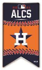 2021 MLB Alcs Houston Astros Broche Américain League World Série Métal Base