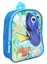 New kids Disney Finding Nemo Dory Ocean Adventure Awaits School Backpack 10""