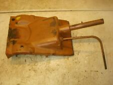 1962 Minneapolis Moline Mm Jet Star Tractor Dash Panel Mount With Throttle Lever
