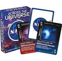 NASA Across the Universe set of 52 playing cards  (+ jokers) (nm)