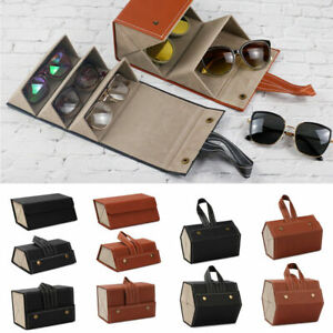 Multiple Slots Glasses Bag Travel Organizer Case Fashion Eyeglass Storage