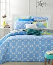 New Martha Stewart Collection Whim King  5-Pc Comforter Set Bow Tie Geo $200