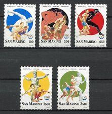 30026) San Marino Pradal Marino 1996 MNH Nuevo Olympic Games 5v