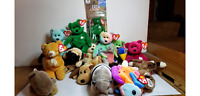 Ty Beanie Babies Lot of 17 and Erin McDonalds Teen Beanie Baby Some Rare/Errors?