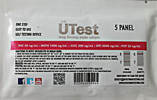 HOME Page self test DROGHE da solo 5 PANNELLO urina di metanfetamina, cocaina, Cannabis, THC, PCP