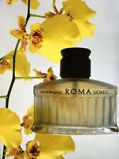 Old formula ROMA Laura biagiotti men edt 38 ml left spray made in Germany