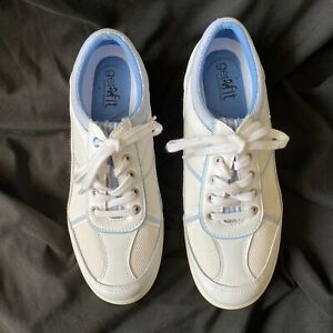 Get Fit by Grasshoppers Shoes EH37347 White with Blue Trim 6.5W