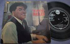 FATS WALLER Honeysuckle Rose UK RCA EP Picture Sleeve AL CASEY Jazz