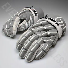 "Warrior Regulator 2 Reflect SR Lacrosse LAX Gloves 13"" Silver (NEW) Lists @ $190"
