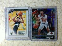 2020-21 Prizm Draft Picks /25 JORDAN NWORA MOJO RC #78 & 2019 Giannis Threads