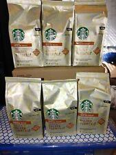 6 New Starbucks Coffee Golden Turmeric, Med Roast Ground 9oz each BB 8/20