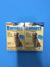Sergeant's Bansect Squeeze-on Dog Flea & Tick Control Monthly Control (2 Packs)