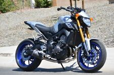 Pyramid Fly Screen - Yamaha FZ09 FZ-09 MT09 - Matte Silver - 22134H