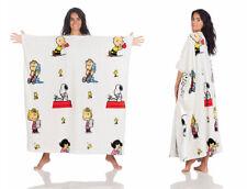 Kanguru Deluxe Peanuts - Snoopy - morbida coperta con maniche - idea regalo