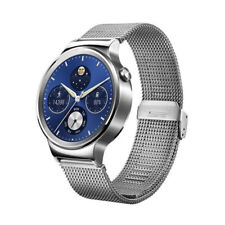 Huawei W1 Watch Stainless Steel With Mesh Band Silver