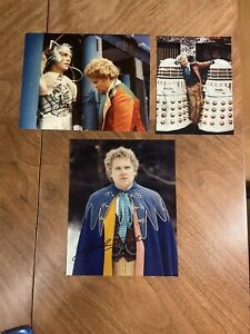 Doctor Who Colin Baker Signed Photos