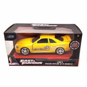 Jada Hollywood Rides: Fast & Furious Leon's Nissan Skyline GR-R (BCN33) 1/32