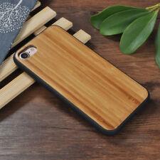 Apple Iphone 6 6s 7 8 cover case hard back real sandal wood wooden oak Bamboo li