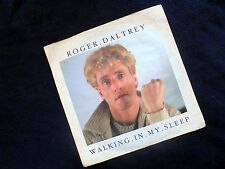 ROGER DALTREY (THE WHO): WALKING IN MY SLEEP/SOMEBODY TOLD ME~GERMAN ED.~1984
