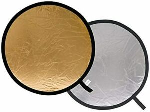 Lastolite by Manfrotto Reflector - 50 cm, Silver/Gold