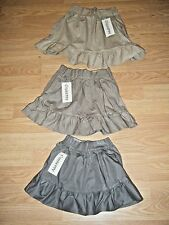 LOT NWT 87 GIUSEPPE GIRLS SKIRTS LT, MED & DK BEIGE SIZES 3/4-4-5-6