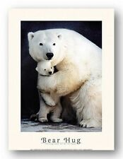 PHOTO ART PRINT Bear Hug by Rick Egan