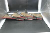 NEW BALANCE RARE METAL & WOOD Shoe Shelf Shelves Display for Slat Walls LOT OF 3