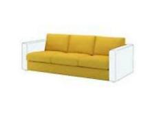 IKEA VIMLE Sofabezug Couchbezug Bezug 3er-Sitzelement ORRSTA gelb 603.510.71 NEU