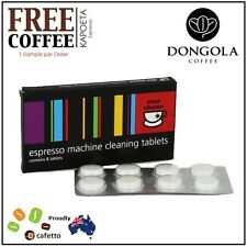 CINO CLEANO Espresso Coffee Machine Cleaning Tablets Cleaner Clean KAPOETA Beans