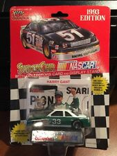 Racing Champions Harry Gant #33 NO SPONSOR w/Card & Display 1:64th 1993 Edition