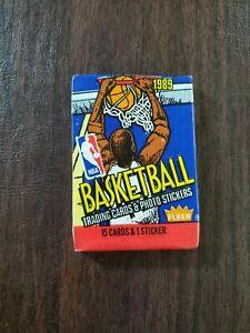 1989-90 Fleer Basketball - Factory Sealed Pack
